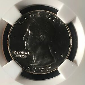Click now to see the BUY IT NOW Price! 1972 D 25C WASHINGTON QUARTER DOLLAR NGC MS67     2553222 013