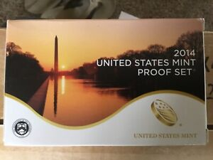 Click now to see the BUY IT NOW Price! 10 2014 S US MINT 14 PC CLAD PROOF SET  P16  COMPLETE W / BOX COA FRIST STRIKE