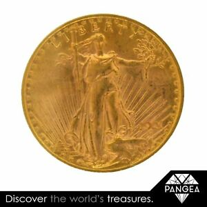 Click now to see the BUY IT NOW Price!  1921  ST. GAUDENS $20 GOLD DOUBLE EAGLE PCGS MS 61  DATE <100 KNOWN