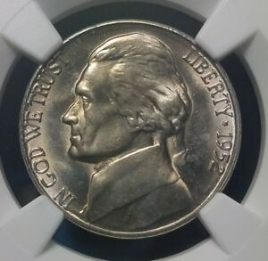 Click now to see the BUY IT NOW Price! 1952 S BU NGC MS66 5 FULL STEPS JEFFERSON NICKEL   ULTRA