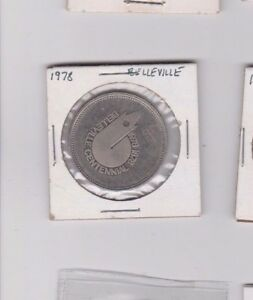 CANADA COIN COMMEMORATIVE DOLLAR 1878   1978 100TH CENTENNIAL BELLEVILLE ONTARIO