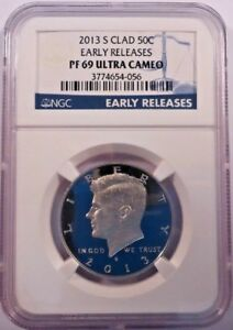 2013 S   CLAD HALF DOLLAR EARLY RELEASES   NGC PF69 ULTRA CAMEO