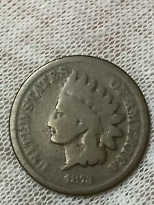 1873 1C INDIAN HEAD PENNY CLOSED 3