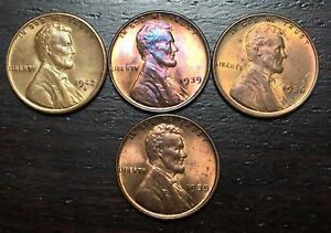 1936 1939 1942 S 1935 LINCOLN CENT WHEAT PENNY      MAKE US AN OFFER   Y8335