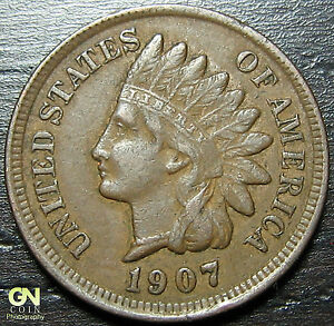 1907 INDIAN HEAD CENT      MAKE US AN OFFER   Y7088