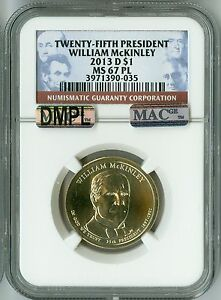 Click now to see the BUY IT NOW Price! 2013 D NGC MS67PL MAC DMPL PQ $1 25TH PRESIDENT MCKINLEY DOLLAR  PROOFLIKE