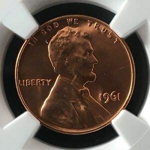 Click now to see the BUY IT NOW Price! 1961 1C RD LINCOLN MEMORIAL ONE CENT NGC MS67 RD                   4474323 006C