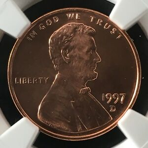 Click now to see the BUY IT NOW Price! 1997 D 1C RD LINCOLN MEMORIAL ONE CENT NGC MS69RD                  4474345 005C