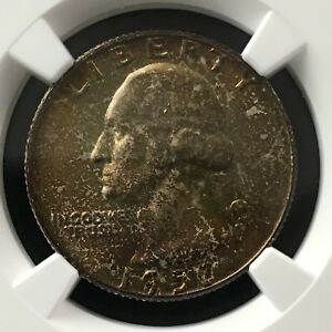 Click now to see the BUY IT NOW Price! 1957 D 25C WASHINGTON QUARTER DOLLAR NGC MS68       4474349 003