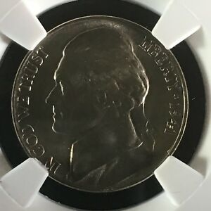 Click now to see the BUY IT NOW Price! 1941 5C FS JEFFERSON NICKEL NGC MS68 5FS       3754017 002C