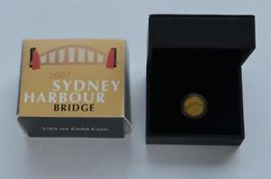AUSTRALIA   2007   GOLD PROOF COIN   SYDNEY HARBOUR BRIDGE [1/25TH OZ]