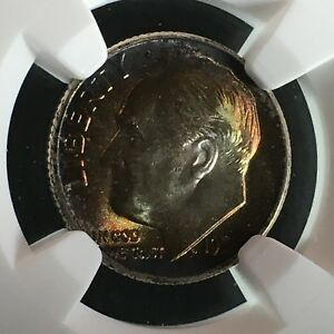 Click now to see the BUY IT NOW Price! 1951 10C FB ROOSEVELT DIME NGC MS68FT         2713674 005C