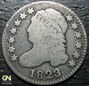 1823 CAPPED BUST DIME      MAKE US AN OFFER   Y7228
