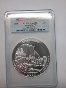 Click now to see the BUY IT NOW Price! 2010 SILVER 5 OZ AMERICA THE BEAUTIFUL ATB COIN YOSEMITE