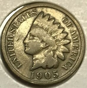 1905 INDIAN HEAD CENT    HIGH GRADE   SEE PICTURES   NICE COIN  UP FOR BIDS 137