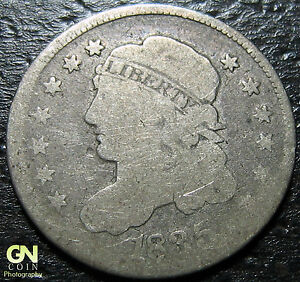 1835 CAPPED BUST DIME      MAKE US AN OFFER   W2890 ZXCV