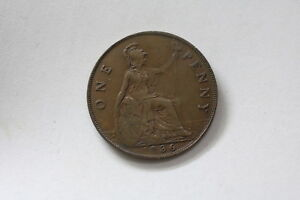 ERROR COIN UK GB PENNY 1936 A93 RK6964