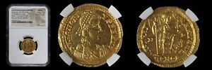 Click now to see the BUY IT NOW Price! WESTERN ROMAN EMPIRE HONORIUS AD 393 423 AV SOLIDUS MILAN RV EMPEROR WITH FOOT O