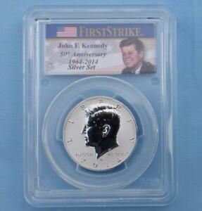 2014 W PCGS PR69 REVERSE PROOF HIGH RELIEF SILVER KENNEDY FIRST STRIKE COIN
