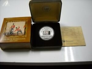Click now to see the BUY IT NOW Price! CB610  AUSTRALIA 2008 PERTH MINT 200TH ANNIVERSARY OF THE RUM REBELLION