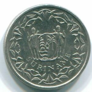 1988 SURINAME 10 CENT NICKEL COIN S13323