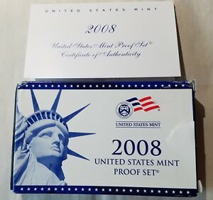 2008 US MINT PROOF SET