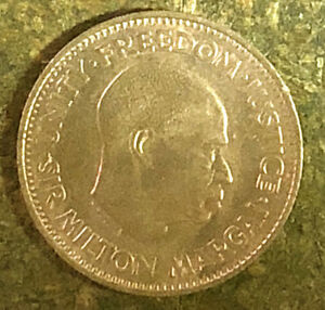 1964 SIERRA LEONE 1/2  CENT COIN  NICE LOOKING COIN    TO/FROM USA