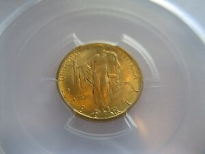 1926 $2.50 SESQUICENTENNIAL GOLD COMMEMORATIVE PCGS MS 64 LOW MINTAGE OF 46 019