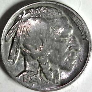 1936 BUFFALO NICKEL 5 CENTS. GOOD DETAIL OBVERSE AND REVERSE. 3006