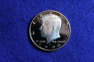1990 S PROOF KENNEDY HALF DOLLAR PULLED FROM A PROOF SET