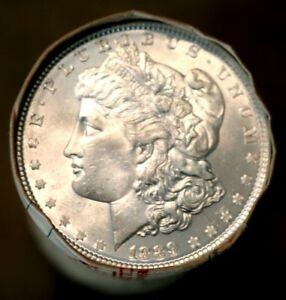 Click now to see the BUY IT NOW Price! MORGAN SILVER DOLLAR ROLL $20 CC MORGAN DOLLARS ENDS BU UNC ROLL PRE 21