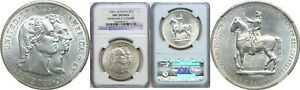 1900 $1 LAFAYETTE COMMEMORATIVE SILVER DOLLAR NGC UNC DETAILS IMPROPERLY CLEANED