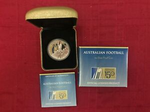 Click now to see the BUY IT NOW Price! CB865  AUSTRALIA 2008 PERTH MINT AUSTRALIAN FOOTBALL 150 YEARS COLOURED REVERSE