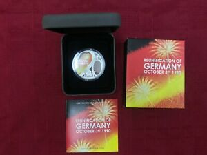 Click now to see the BUY IT NOW Price! CB840  TUVALU 2010 PERTH MINT REUNIFICATION OF GERMANY 3/10/90