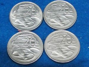 AUSTRALIA PLATYPUS  SPECIAL COINS  LOT OF 4   COMBINE SHIPPING AND SAVE $$$$