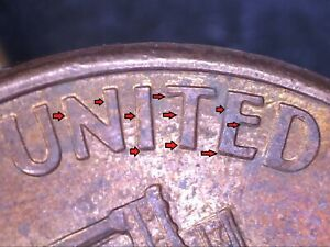 1999 D LINCOLN CENT DOUBLED DIE REVERSE  DDR