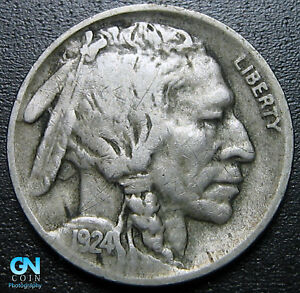 1924 D BUFFALO NICKEL      MAKE US AN OFFER   G5318