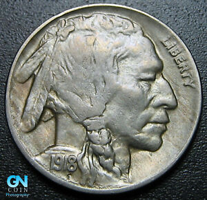 1918 D BUFFALO NICKEL      MAKE US AN OFFER   G5317