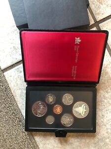 1982 CANADA DOUBLE DOLLAR PROOF SET  REGINA