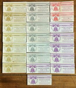 Click now to see the BUY IT NOW Price! $748 IN 1994 1999 PAPER FOOD STAMPS FULL BOOKS AGRICULTURE UN CIRCULATED