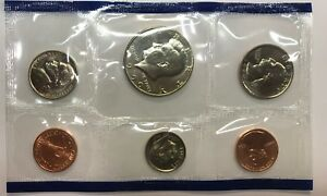 1990 P MINT SET / BIRTH YEAR   UNCIRCULATED COINS   REALLY NICE BU COINS      3