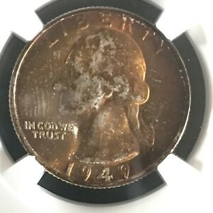 Click now to see the BUY IT NOW Price! 1949 D 25C WASHINGTON QUARTER DOLLAR NGC MS68       4227072 007C