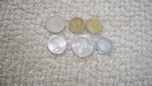 GREEK COINS    PRE EURO   LOT   VARIOUS DENOMINATIONS    6 COINS