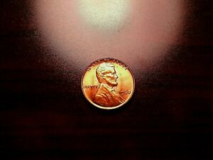 1960 P SM DT LINCOLN CENT  WITH A DIE CRACK ERROR RUNNING DOWN LINCOLN JACKET