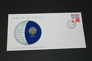 BAHRAIN COINS OF ALL NATIONS 1970 50 FILS COIN UNC