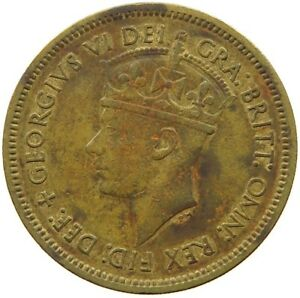 WEST AFRICA SHILLING 1949 QC 033