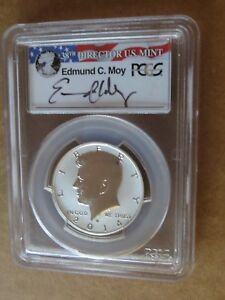 Click now to see the BUY IT NOW Price! 2014 W KENNEDY JFK EDMUND MOY HALF 50TH ANNIVERSARY SILVER SET REVERSE PCGS PR70