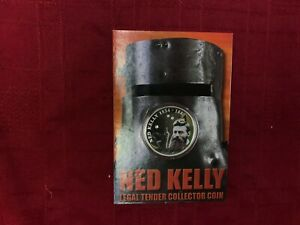 Click now to see the BUY IT NOW Price! CB1088  COOK ISLANDS 2004 PERTH MINT NED KELLY LEGAL TENDER COLLECTOR