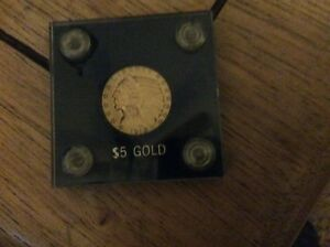 1912 INDIAN HEAD 5$  GOLD COIN