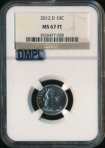 Click now to see the BUY IT NOW Price! 2012 D ROOSEVELT DIME NGC MAC MS67 FT DMPL